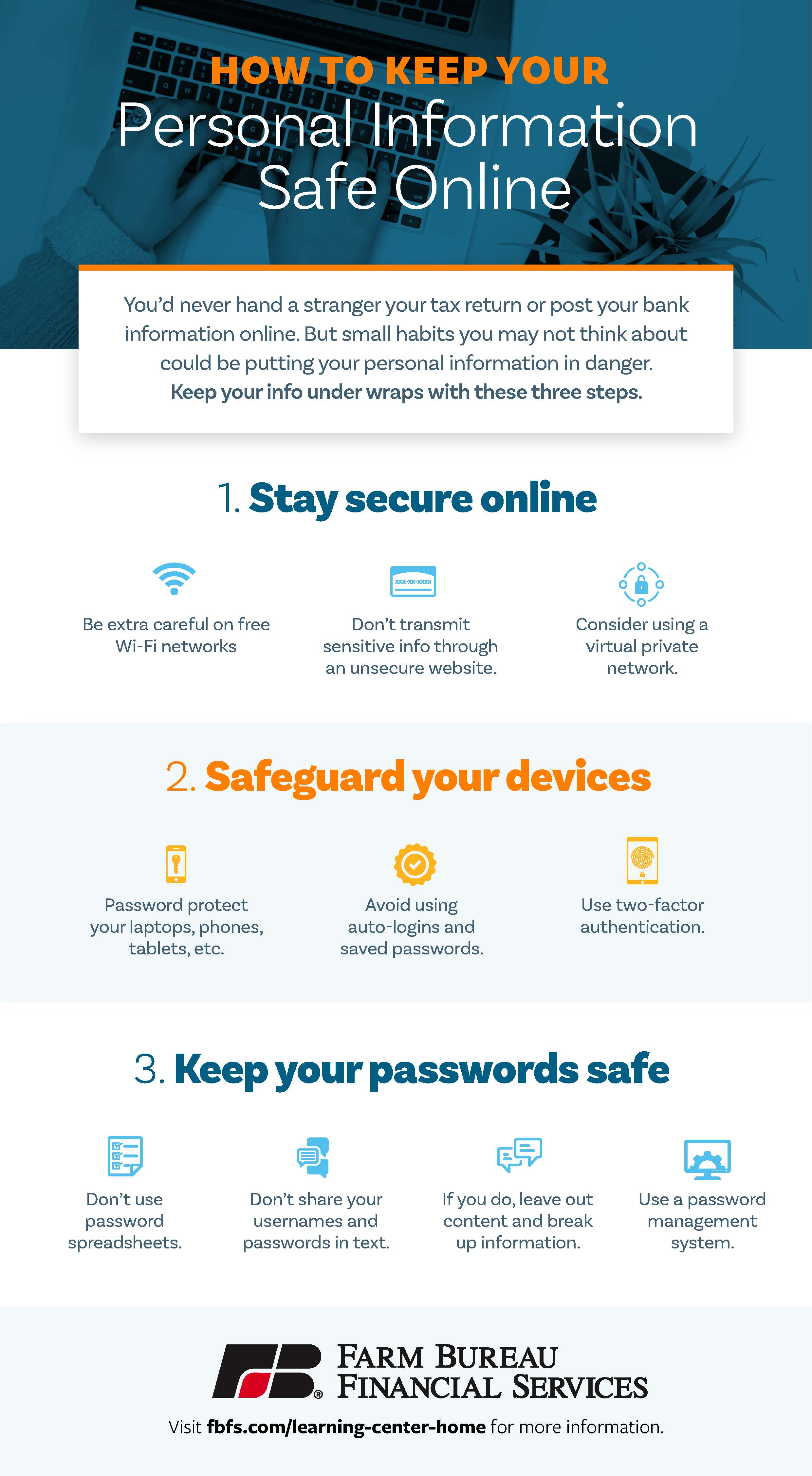 Safeguard Your Personal Info Online