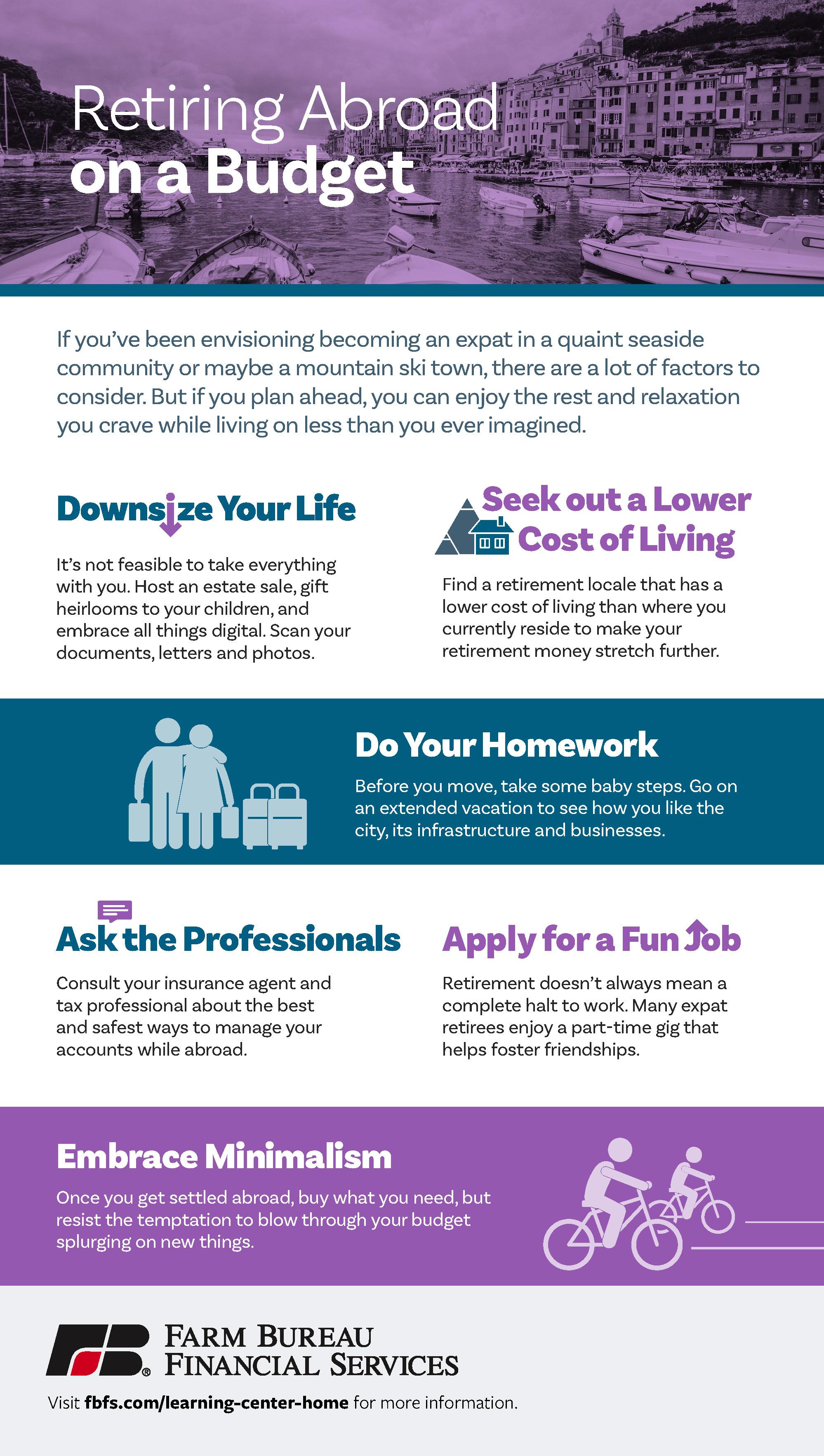 Retiring Abroad [infograpgic]