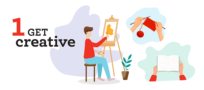 1 Get Creative