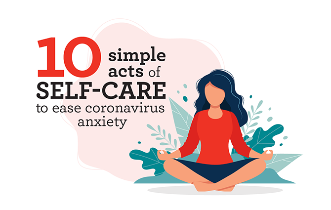 Corona Virus Self-Care LC infographic Header