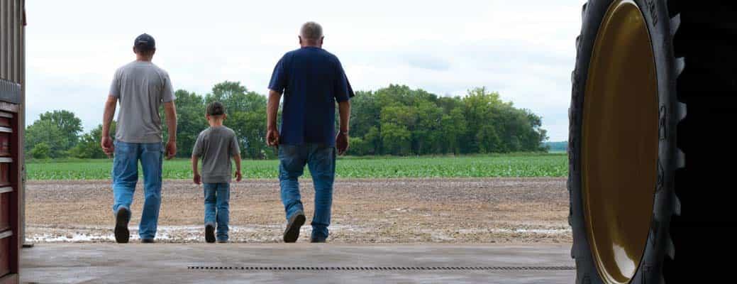 3 Generations of Farmers