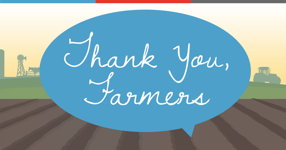 10 Reasons to be Thankful for Farmers