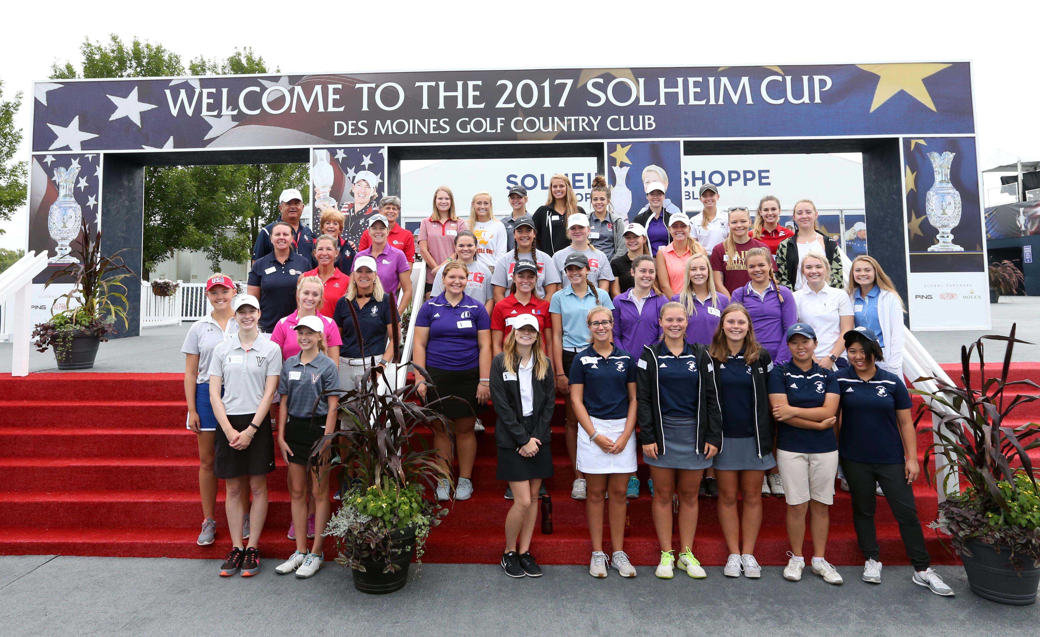 Swing for Success high school golfers