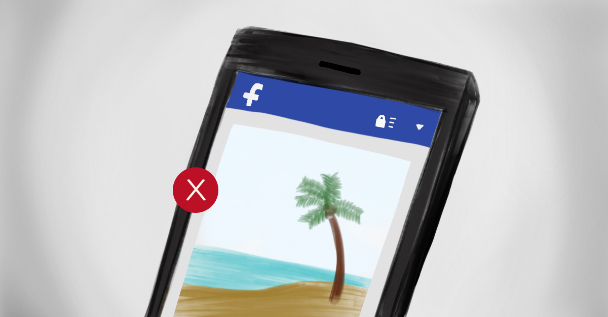 Do not post about your trip on social media