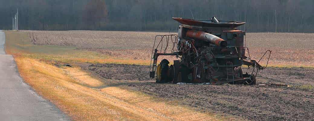 3 Steps to Take After a Combine or Tractor Fire