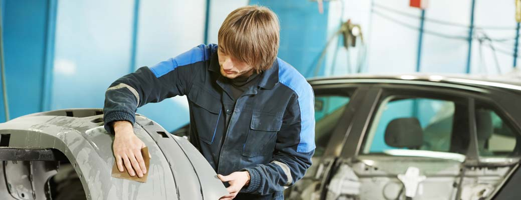 How to Select an Auto Body Shop header image