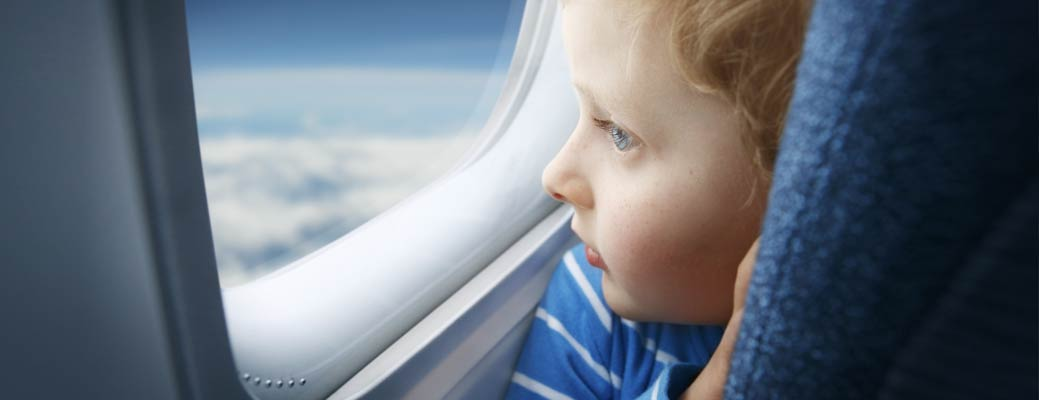 How to Send Your Child on a Flight Alone header image