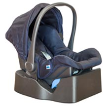 A picture of an infant car seat