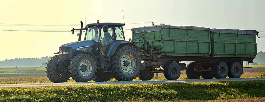 Road Safety with Farm Equipment header image