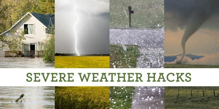 16 Severe Weather Hacks Everyone Should Know header image