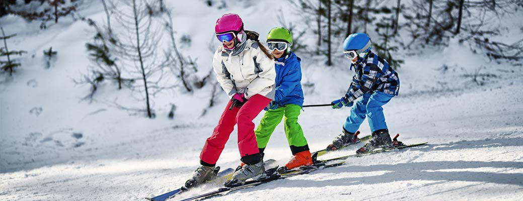 Ski Trip! How to Hit the Slopes with Your Kids header image