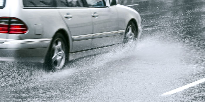 Get a Grip on Wet Weather Driving