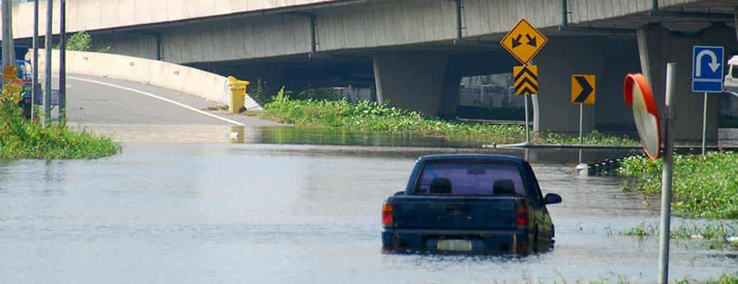 What Do You Do if Your Car Has Flood Damage? header image