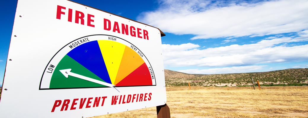 Wildfire Safety Tips header image