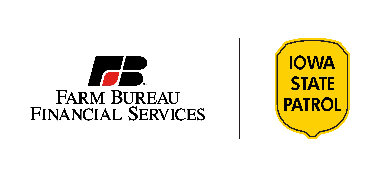 Farm Bureau Financial Services with Iowa State Patrol