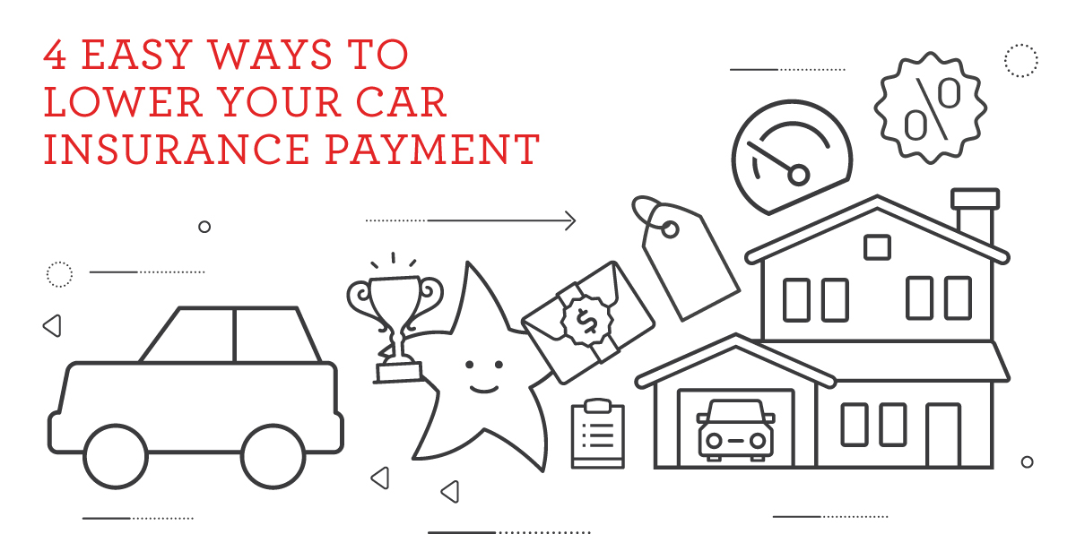 4 Easy Ways to Lower Your Car Insurance Payment header image