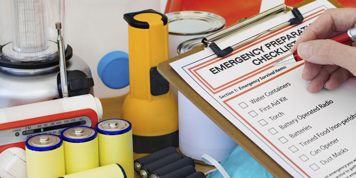 Wicked Weather Preparedness: Contents for Your Family's Disaster Supply Kit header image