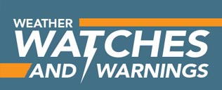 Weather Watches and Warnings (Infographic) header image