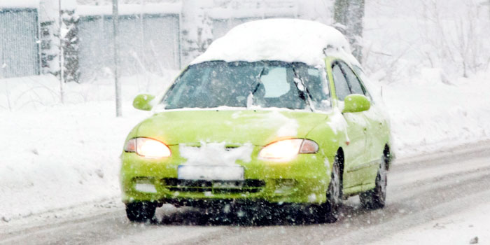 7 Tips to Gear Up for Winter Driving header image